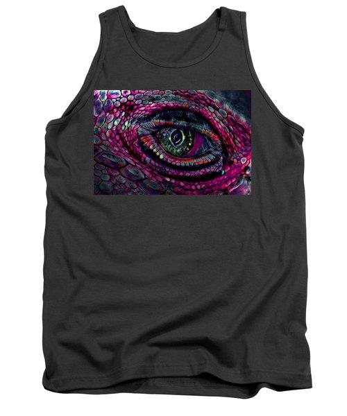 Flaming Dragons Eye Tank Top