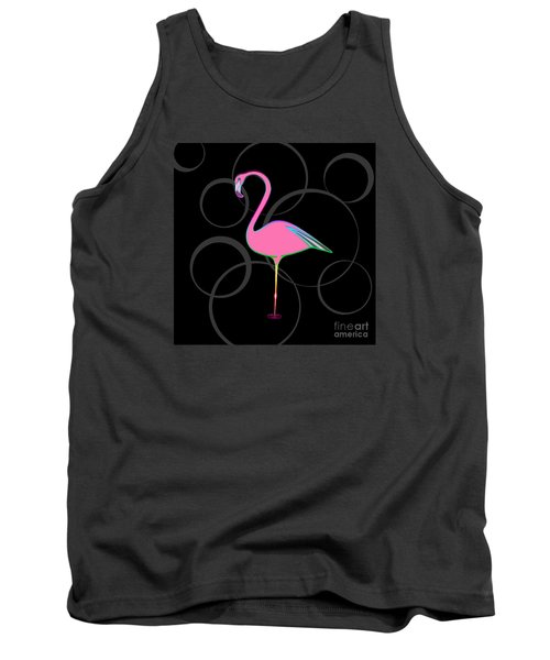 Flamingo Bubbles No 1 Tank Top