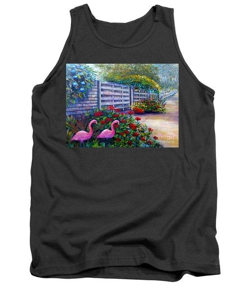 Flamingo Gardens Tank Top