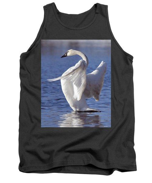 Flapping Swan Tank Top