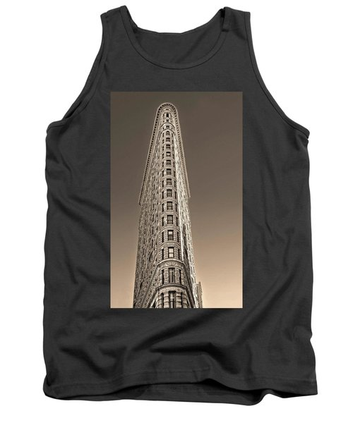 Flat Iron Building New York City Tank Top