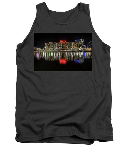 Tank Top featuring the photograph Flats East Bank by Brent Durken