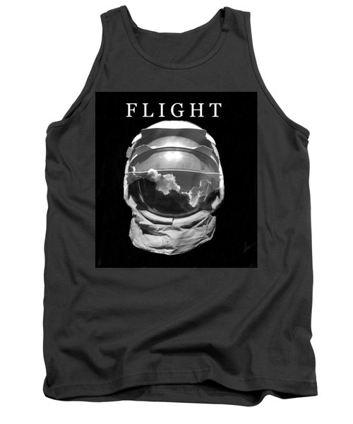 Tank Top featuring the photograph Flight by David Lee Thompson