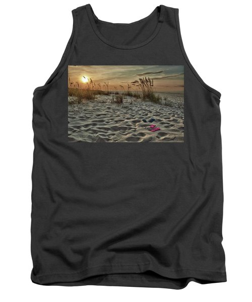 Flipflops On The Beach Tank Top