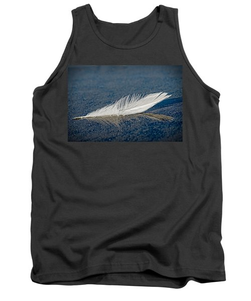 Floating Feather Reflection Tank Top