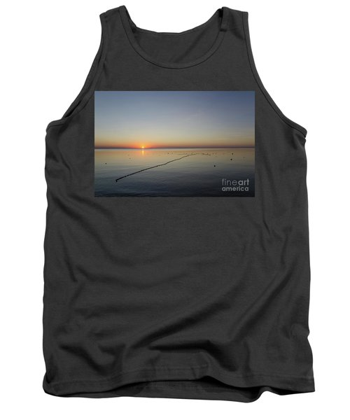 Tank Top featuring the photograph Floating Fishnet by Kennerth and Birgitta Kullman
