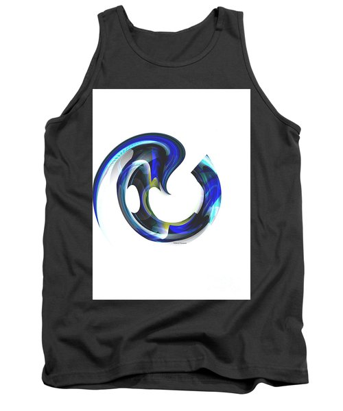 Floating Life Tank Top by Thibault Toussaint