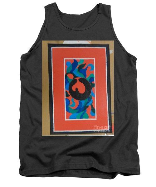 Floor Cloth E - Sold Tank Top by Judith Espinoza