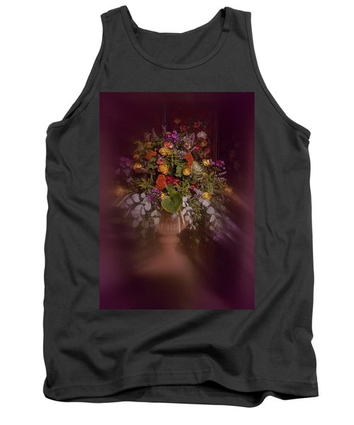 Tank Top featuring the photograph Floral Arrangement No. 2 by Richard Cummings