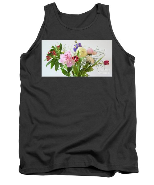 Tank Top featuring the photograph Floral Display by Wendy Wilton