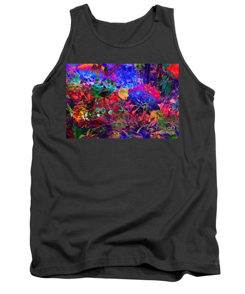Floral Dream Of Summer Tank Top