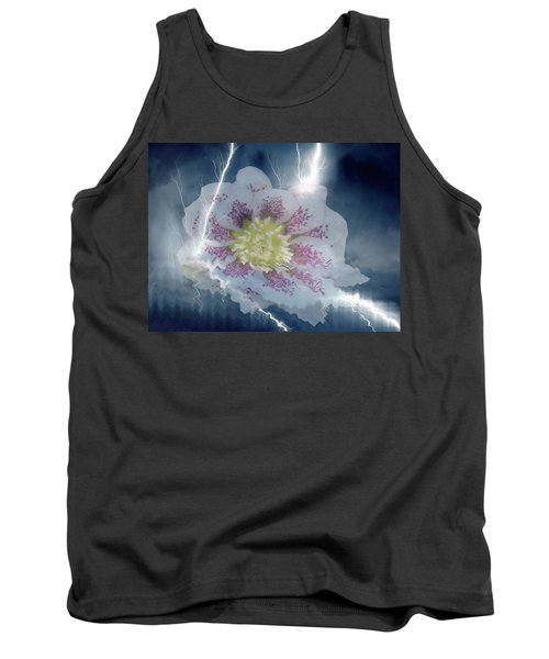 Floral Lightning Reflections Tank Top