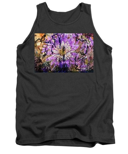 Floral Poetry Of Time Tank Top