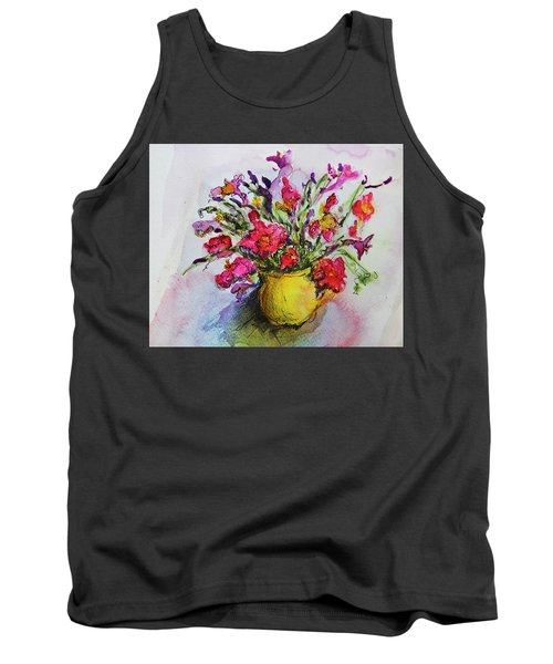 Floral Still Life 05 Tank Top by Linde Townsend