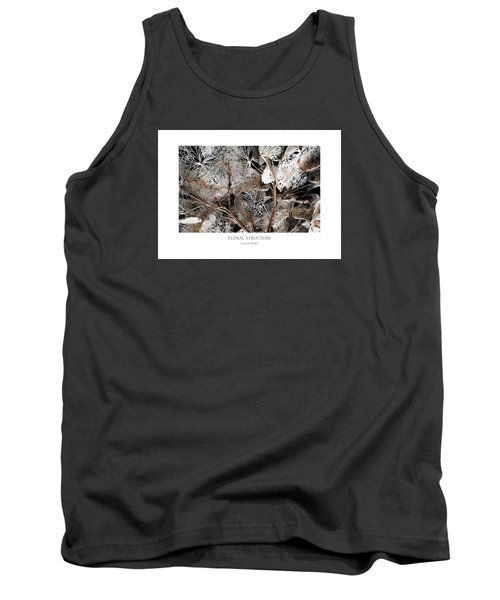Floral Structure Tank Top