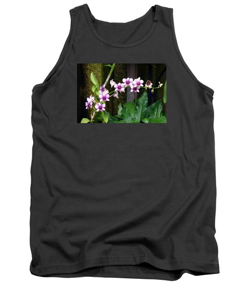 Tank Top featuring the photograph Floral Sway by Deborah  Crew-Johnson