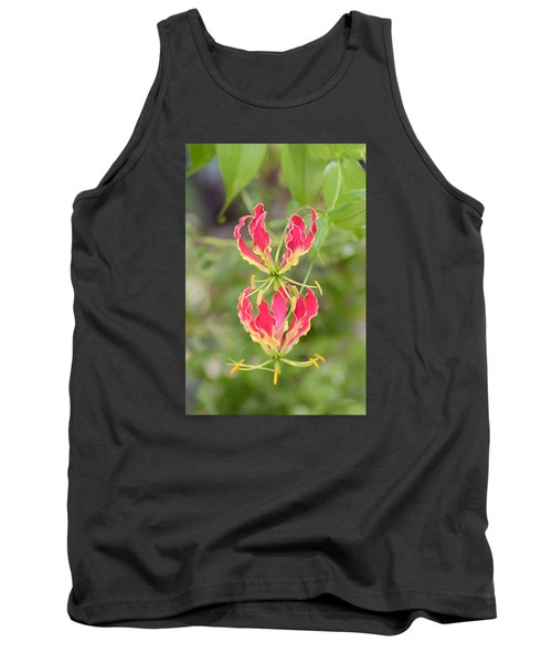 Floral Twirlers Tank Top