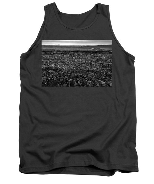 Tank Top featuring the photograph Florence From Fiesole by Sonny Marcyan