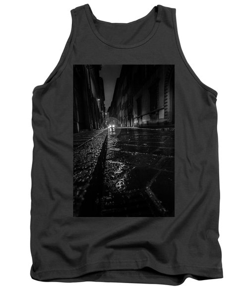 Tank Top featuring the photograph Florence Nights by Sonny Marcyan