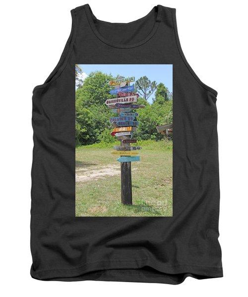 Florida Crossroads 3 Tank Top