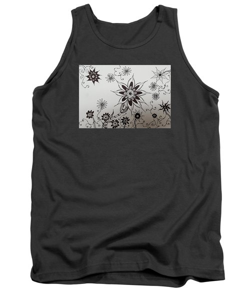 Flower 10 Tank Top