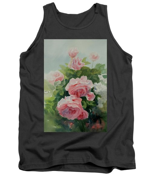 Tank Top featuring the painting Flower 11 by Helal Uddin