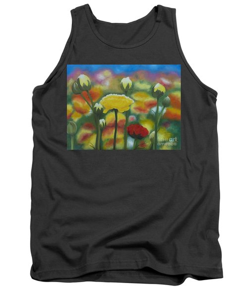 Flower Focus Tank Top
