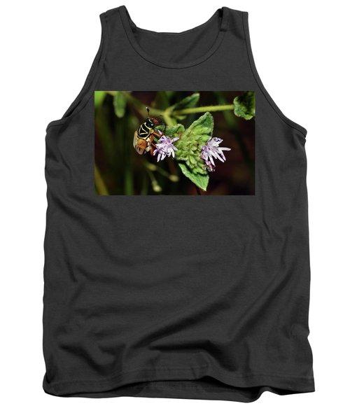 Flower Scarab - Trigonopeltastes Delta Tank Top