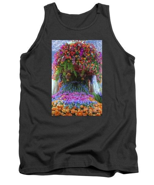 Flower Wave Tank Top