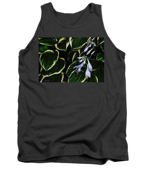 Flowering Hosta Tank Top