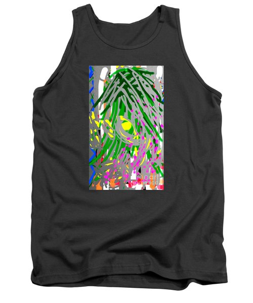 Flowering Orchids Tank Top