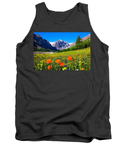 Flowering Valley. Mountain Karatash Tank Top