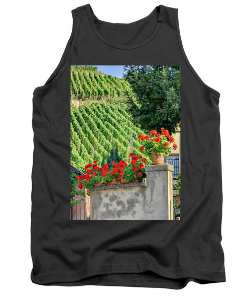 Tank Top featuring the photograph Flowers And Vines by Alan Toepfer