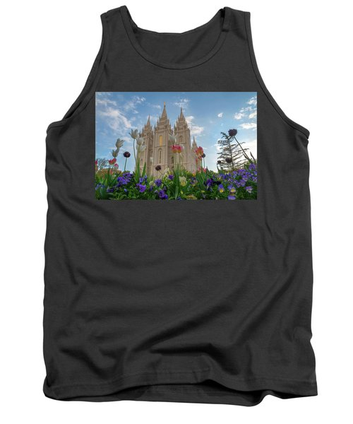 Flowers At Temple Square Tank Top