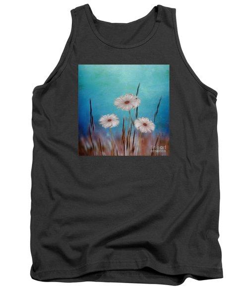 Flowers For Eternity 2 Tank Top by Klara Acel