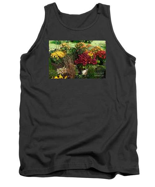 Flowers For Sale Tank Top by David Blank