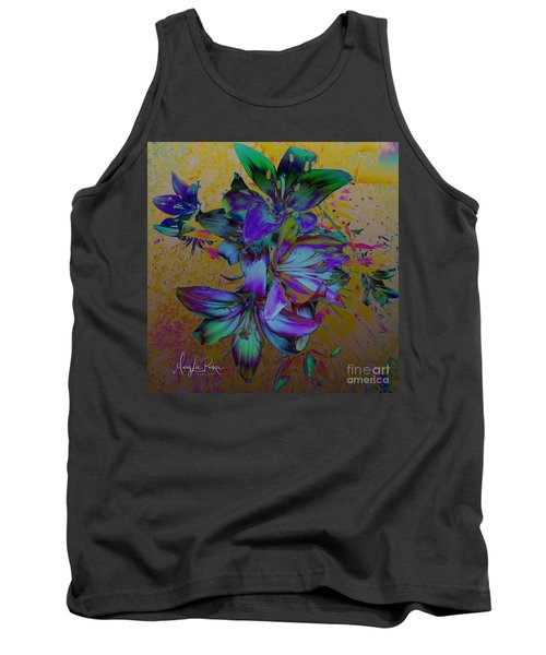 Flowers For The Heart Tank Top