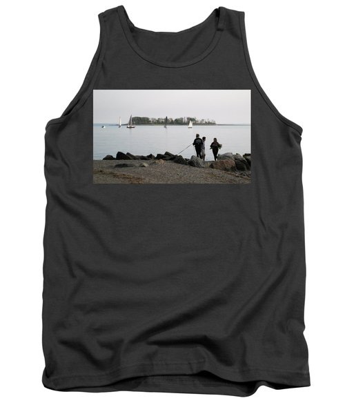 Tank Top featuring the photograph Flowers For The Lady by John Scates