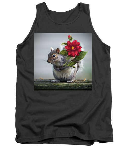 Flowers For You Tank Top by Brian Wallace
