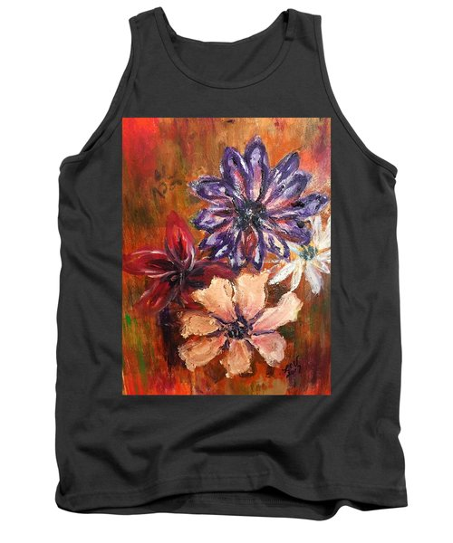 Flowers In The Spring Tank Top