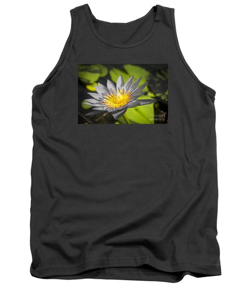 Flowers Of Grey Tank Top