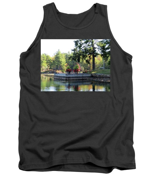 Flowers On The Rift Tank Top