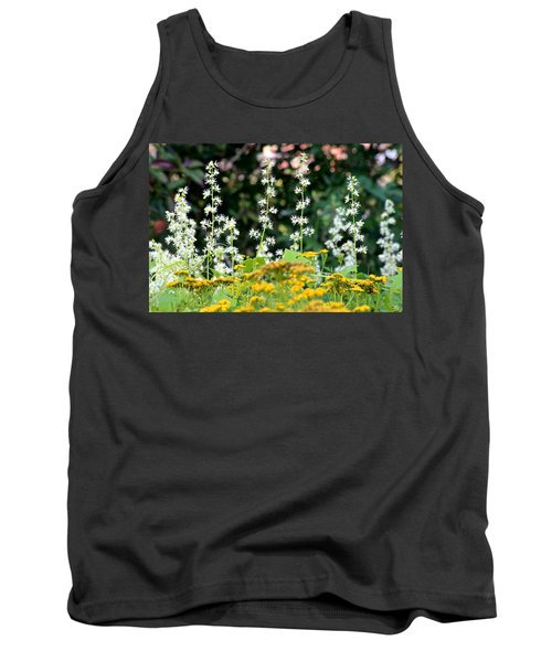 Flowers Sparkling Above The Tansies Tank Top