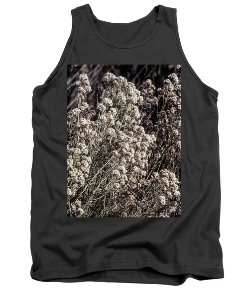 Fluff And Seeds Tank Top by John Brink