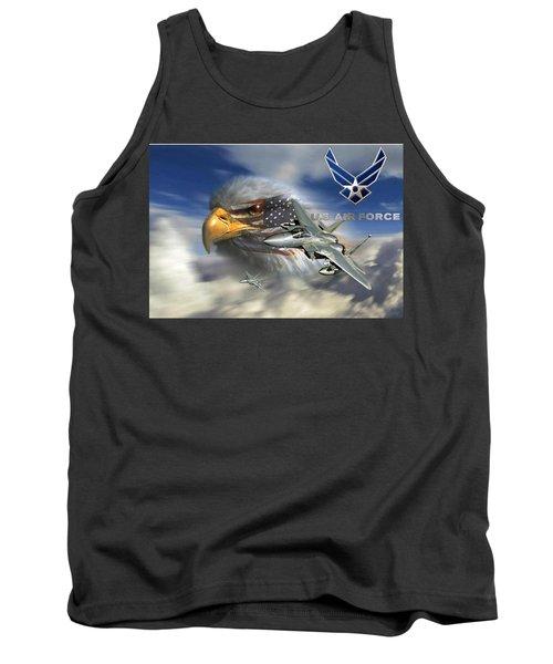 Fly Like The Eagle Tank Top by Ken Pridgeon