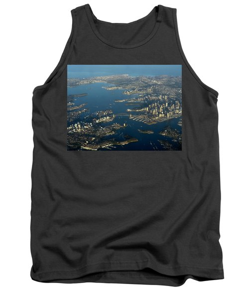 Flying Into Sydney Tank Top