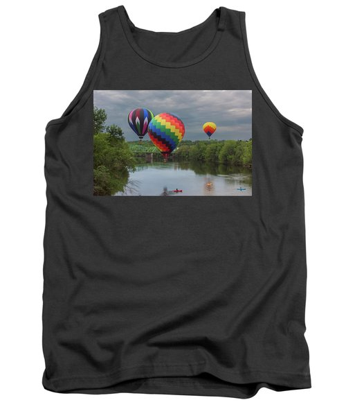 Flying Over The Androscoggin Tank Top