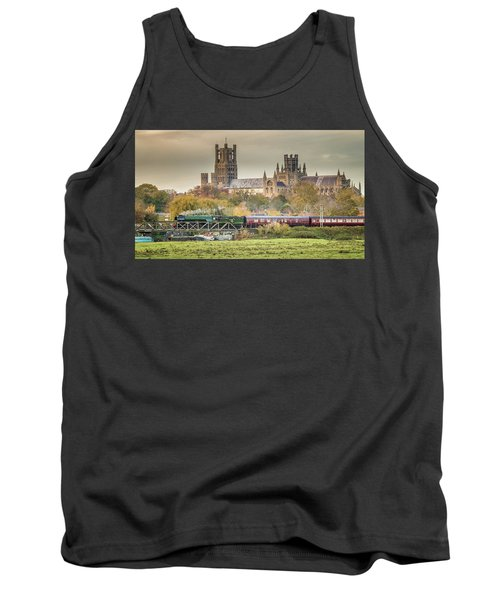 Flying Scotsman At Ely Tank Top