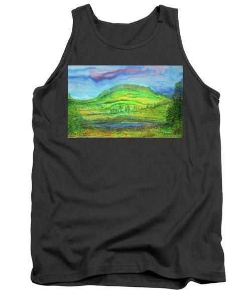 Flying Solo Tank Top by Susan D Moody