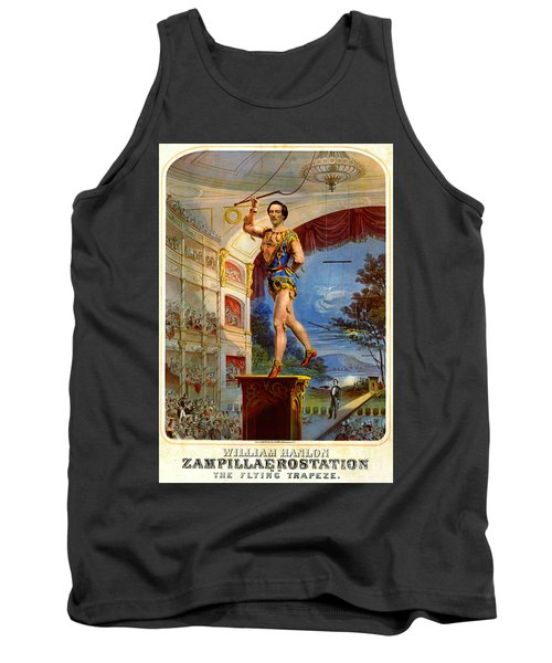 Tank Top featuring the photograph Flying Trapeze 1850 by Padre Art